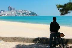 Hae hun dae Beach Busan south korea Royalty Free Stock Images