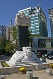 Haechi - Statue of a mythological lion-like animal Royalty Free Stock Images