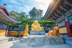 Haedong Yonggungsa Temple in Busan, Korea. Stock Image