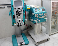 Haemodialysis machine. Dialysis machine to remove waste products and excess fluid in blood Stock Photography