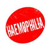 Haemophilia rubber stamp Stock Images