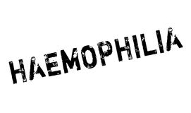 Haemophilia rubber stamp Royalty Free Stock Photos