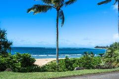 Haena Beach, Kauai, Hawaii Royalty Free Stock Images