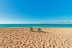 Haena beach in Kauai island, Hawaii Stock Photography