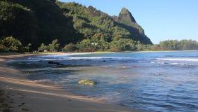 Haena Beach Park stock video