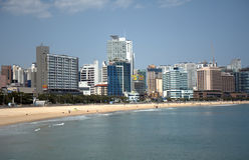Haeundae Beach, Busan, Korean Republic Royalty Free Stock Photos