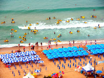Haeundae beach, Busan, South Korea Stock Images