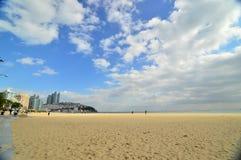 Haeundae strand Arkivbilder
