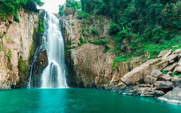 Haew Narok (chasm of hell) waterfall, Kao Yai national park, Tha Royalty Free Stock Photo