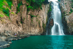 Haew Narok (chasm of hell) waterfall Royalty Free Stock Photo