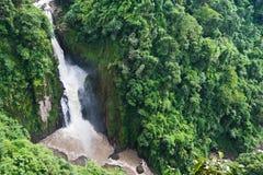 Haew Narok vattenfall Arkivbilder