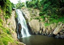 Haew-Narok vattenfall, Kao Yai nationalpark, Thailand Arkivfoton