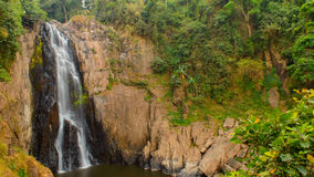 Haew Narok Waterfall in Kao Yai National Park. Stock Photo