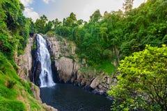 Haew Narok waterfall. In Khao Yai National Park in Thailand Royalty Free Stock Photography