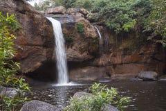 Haew Suwat vattenfall Arkivfoto