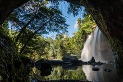 Haew Suwat Wasserfall Lizenzfreie Stockfotos