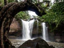 Haew Suwat Wasserfall Stockfotografie