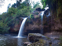 Haew Suwat Waterfall Stock Photos