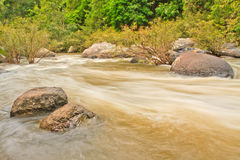 Haew Suwat Waterfall Stock Image