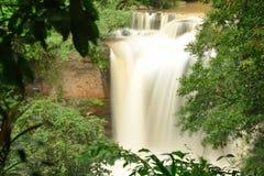 Haew Suwat Waterfall in Kao Yai Nation park of Thailand Royalty Free Stock Photos