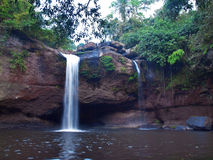 Haew Suwat Waterfall Royalty Free Stock Photo