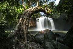 Haew Suwat Waterfall Stock Photography