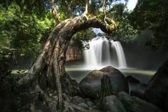 Haew Suwat Waterfall Stock Photography