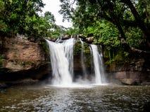 Haew Suwat Waterfall Royalty Free Stock Image