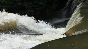 Haewsu Wat Waterfall tropisch bos, het Nationale park van Khao Yai, Thailand Royalty-vrije Stock Fotografie