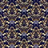 Hafciarski kolorowy kwiecisty bezszwowy wzór Makata wektoru bac Zdjęcia Royalty Free
