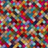 Hafciarski lub barwiony tkanina wzoru tekstury powtarzać bezszwowy E r ilustracji