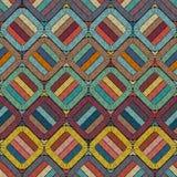 Hafciarski lub barwiony tkanina wzoru tekstury powtarzać bezszwowy _ Etniczni i plemienni motywy Druk w artystycznym stylu ilustracja wektor