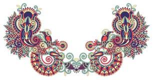 hafciarskiej mody ilustracyjny neckline wektor Fotografia Royalty Free