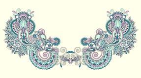 hafciarskiej mody ilustracyjny neckline wektor Zdjęcie Stock