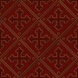 Hafciarskiej tkaniny Bezszwowa tekstura ilustracja wektor