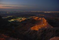 hafeet山 库存照片