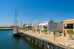 Hafen Adelaide, Süd-Australien Stockbilder