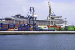 Hafen in Arrecife Stockfotografie