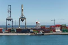 Hafen in Arrecife Stockbild