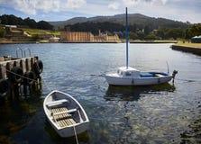 Hafen Arthur Historic Prison Tasmania Lizenzfreie Stockfotos