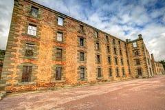 Hafen Arthur Historic Site: Das Gefängnis stockfotos