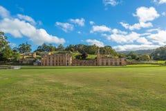 Hafen Arthur Historic Site Tasmania Stockbild