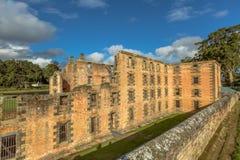 Hafen Arthur Historic Site Tasmania Lizenzfreies Stockfoto