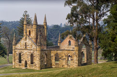 Hafen Arthur Historic Site Tasmania lizenzfreie stockfotografie