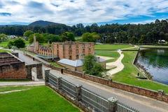Hafen Arthur Historic Site - Tasmanien - Australien stockbilder