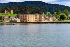 Hafen Arthur Historic Site - Tasmanien - Australien lizenzfreie stockfotografie