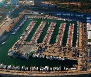 Hafen in Barcelona Lizenzfreie Stockbilder