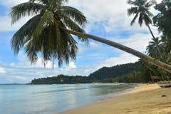 Hafen-Barton-Strand, die Philippinen lizenzfreies stockbild