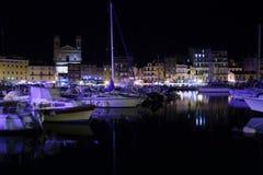 Hafen Bastias Vieux Lizenzfreie Stockbilder