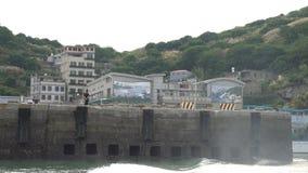 Hafen Beigan Baisha stock video footage